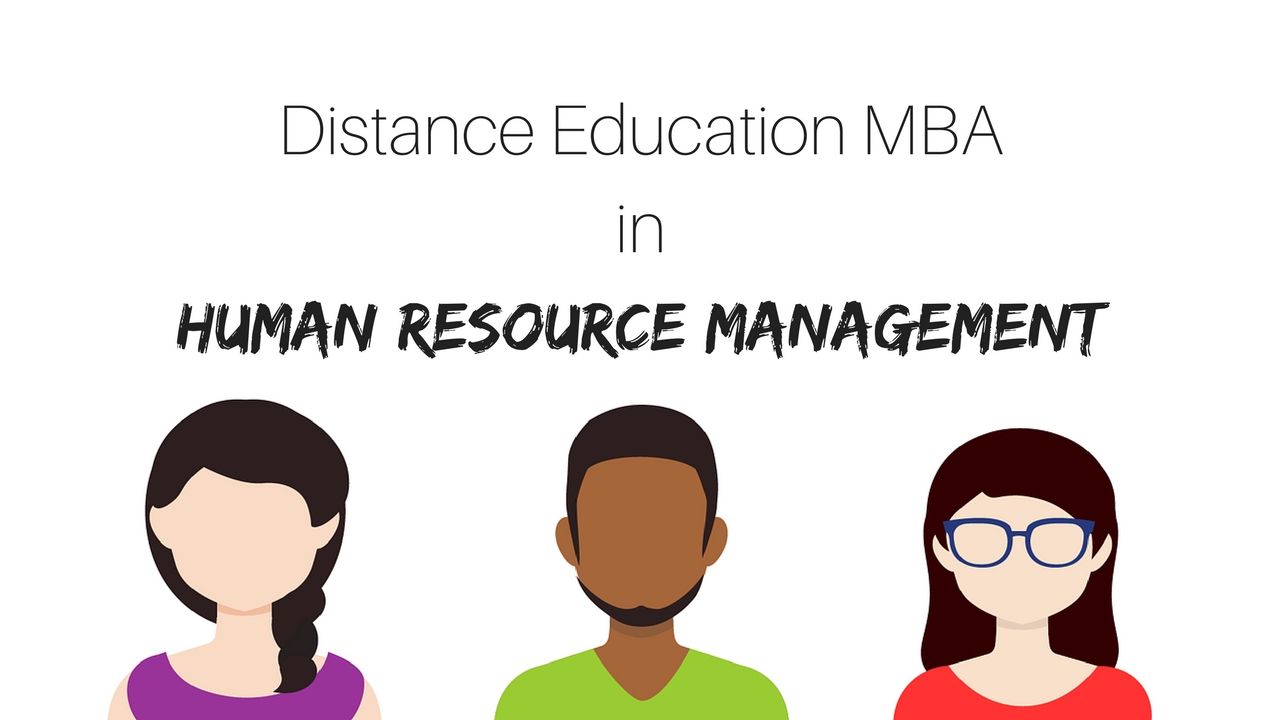 Distance Education MBA Human Resource Management