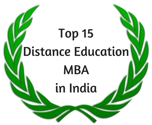 best MBA Distance Education India