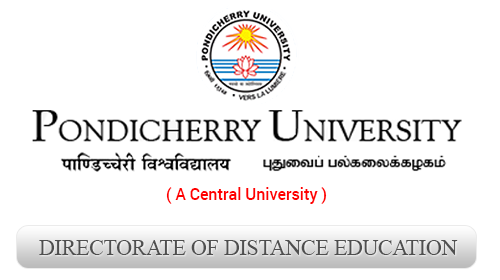 pondicherry university Directorate of Distance Education