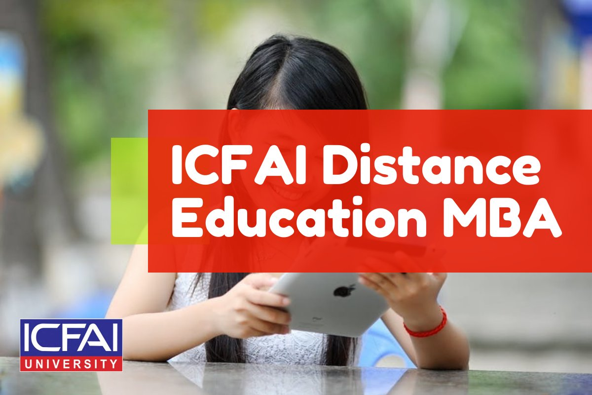 ICFAI University Distance Education MBA