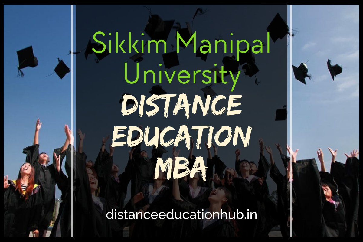 Sikkim Manipal University Distance Education MBA