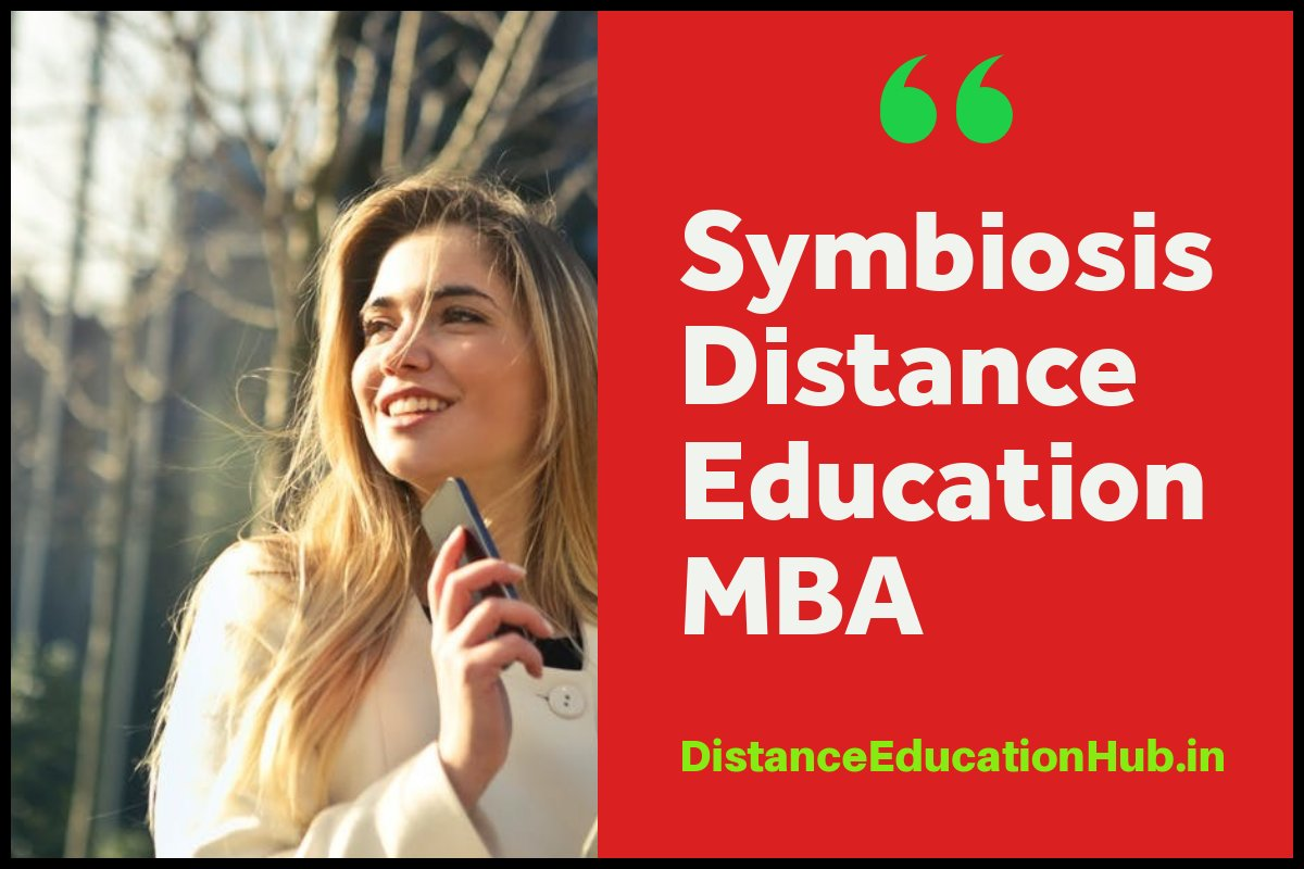 Symbiosis Distance Education MBA