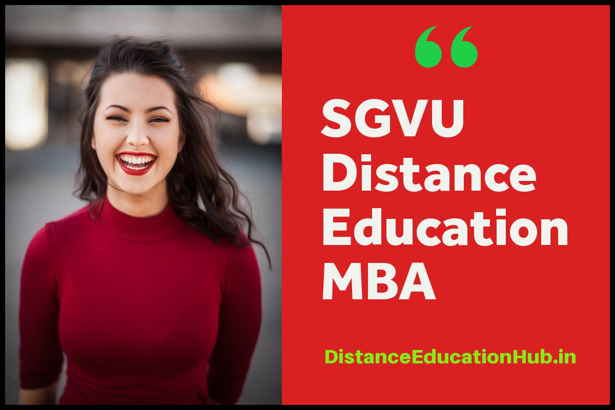 Suresh Gyan Vihar University Distance Education MBA