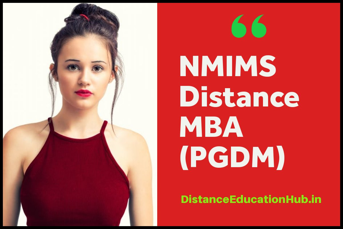NMIMS Distance Education MBA PGDM